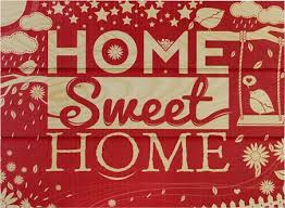 Small Picture Home Sweet Home Theres No Place Like Home Wooden Wall Art Buy