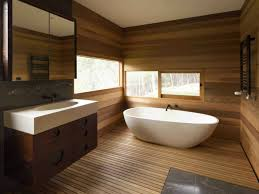 Country bathroom - cast iron tub, beadboard or wood panelling on walls