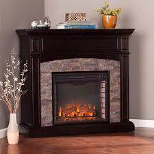 southern enterprises newburgh 455 in w faux stone corner southern enterprises fireplace tv stands electric fireplaces