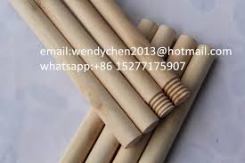 home used wooden mop stick natural wooden rolling pole