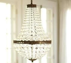 pottery barn beaded chandelier white pottery barn beaded chandelier white wooden wash wood la