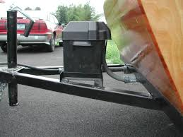stripper flexible waterproof conduit routes the wires to the tow vehicle for charging and the fuse box in the cabin