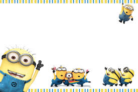 moms kiddie party link minions party invites minions invite 2 blank