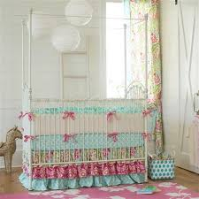 girl baby furniture. shabby chenille crib bedding kumari garden girl baby furniture