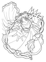 Explore Princess Coloring Pages Anime Princess