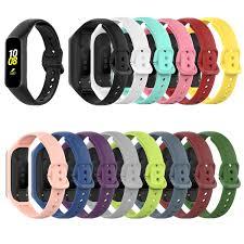 Dây đeo thay thế bằng silicon dùng cho đồng hồ thông minh Samsung Galaxy Fit  2 Sm-R220 giá cạnh tranh