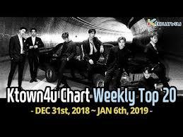 Ktown4u Chart Kpop Weekly Top 20 Dec 31st 2018 Jan 6th