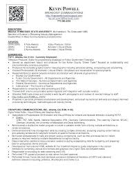 Production Resumes Video Producer Resume Video Producer Resume Planner Format Download