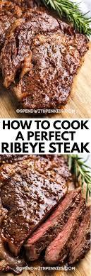 perfect ribeye steaks from fresh or