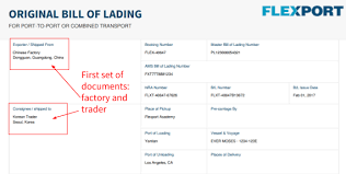 bill of loading flexport help center article what is a switch bill of lading