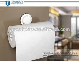 kitchen towel holder wall mounted. ABS Suction Cup Kitchen Towel Roll Holder Nailless Paper Tissue Organizer Wall Mounted