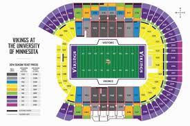 46 Complete Us Bank Stadium Seating Map