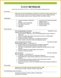11 Hvac Resume Templates Skills Based Resume