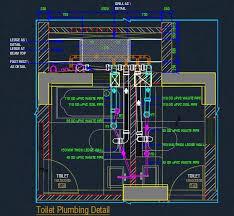 Toilet Plumbing Detail Plan Autocad Dwg Plan N Design