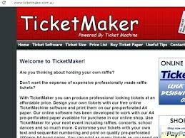 Event Ticket Printing Software Ticket Printing Template Fresh Print Your Own Tickets Template Free