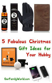 5 Fabulous Christmas Gift Ideas for Husbands - OurFamilyWorld