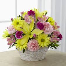 damiano s flowers the ftd basket of cheer bouquet amsterdam ny 12010 ftd florist flower and gift delivery