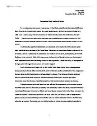 for my independent study project i an essay by paul butler  page 1 zoom in