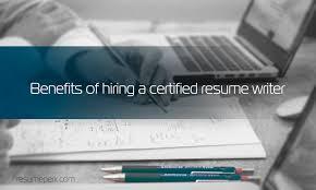Benefits Of Certified Resume Writing Services Resumeperk Com