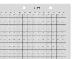 3 Year Calendar Year Calendar 3 Year Calendar 2019 2020 2021 Light Grey