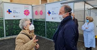 Asl Roma 1, al via vaccinazioni anti Covid per gli over 80 - DIRE.it