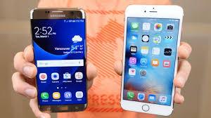 samsung galaxy s7 vs iphone 6s. samsung galaxy s7 edge vs apple iphone 6s plus iphone 6s t