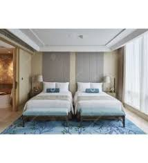 image modern wood bedroom furniture. Chinese Modern Wood Double Bed Furniture Set Hotel Bedroom (DL 07) Image