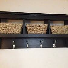 Cubby Wall Organizer With Coat Rack Beautiful entryway cubbie shelf with coat hooks Gorgeous and 76