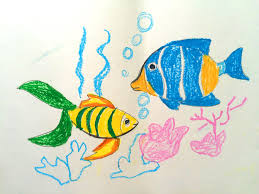 Art For Kids Painting Animals For Kids Painting For Kids How To Draw A Fish