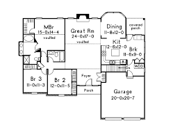 Mooreland Traditional Home Plan D    House Plans and MoreTraditional House Plan First Floor   D    House Plans and More