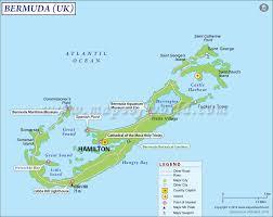 bermuda map  map of bermuda