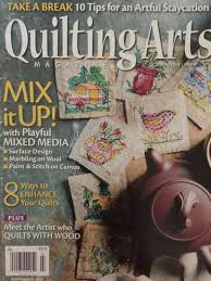 QUILTING ARTS MAGAZINE JUNE/JULY 2017 - Jeannie's Quilts &  Adamdwight.com