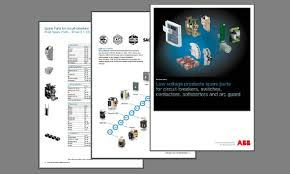 soft starters abb new spare parts catalog 2016 is now available