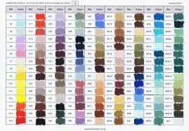 Unison Pastel Color Chart Unison Old New Colors Mystery Solved Wetcanvas