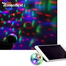 Mini Disco Ball Decorations Lemonbest Mini 100 LED Disco Ball USB Powered night Light RGB Lamp 44