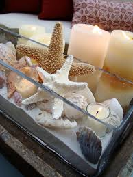 themed outdoor decor original susan herin shop this look original katrina giles beach inspired centerpiece seash