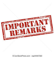 Important remarks-stamp. Grunge rubber stamp with text important remarks,  vector illustration. | CanStock