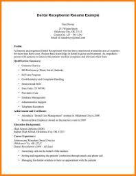 10 Orthodontist Resume Address Example India Receptionist Templates