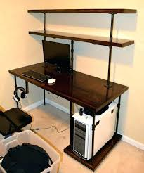 office furniture shelves. office desk with bookcase and shelving industrial computer shelves steampunk . furniture n