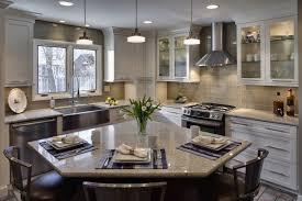 Kitchen Island With Corner Seating kitchen island with corner seating ...  kitchen features a