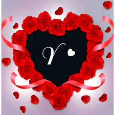 Stylish A to Z Red Heart Alphabets ...