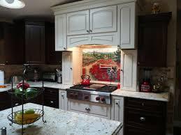 Murals For Kitchen Backsplash Custom Tiles And Tile Mural Pictures Custom Tile Murals