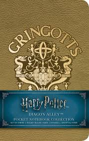 harry potter diagon alley pocket notebook collection set of 3 9781683833567 in01