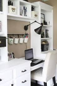 Neutral home office ideas Colors Home Office Ideas Craft Room Reveal Home Office Space Craft Supply Storage Ideas One Room Challenge Renovation Home Tour Office Makeover One Room Pinterest One Room Challenge orc Week 6 Reveal Of Functional Stylish