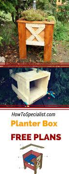 Decorative Planter Boxes 100 Best Planter Box Plans Images On Pinterest 90