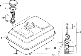 Honda f400k1 a2 rototiller jpn vin f400 2100001 parts diagram for toro trimmer fuel