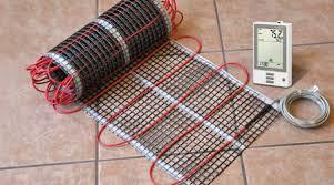 Plancher chauffant à électricité