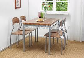 steel dining room table