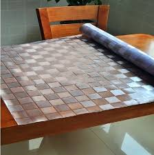 glass table covers astounding dining room decoration beautiful superior table pad co inc pads dining covers glass table covers