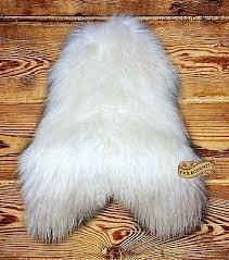fur accents mongolian sheepskin area rug long hair throw faux fur 5 colors